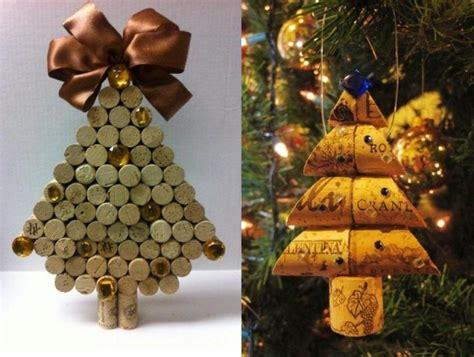 manualidades navidad original  adornos de corcho