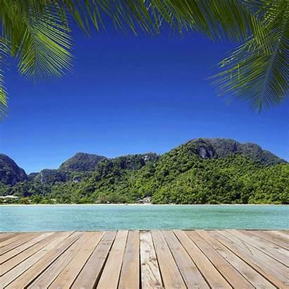 Pina Colada Tropical Gifs Island Giphy Robbie