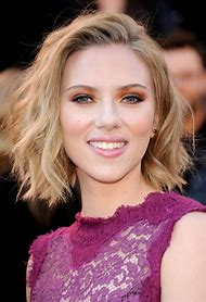 Scarlett Johansson Bob Hair