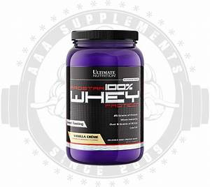 Aaa Supplements Ultimate Nutrition - Prostar Whey 910g