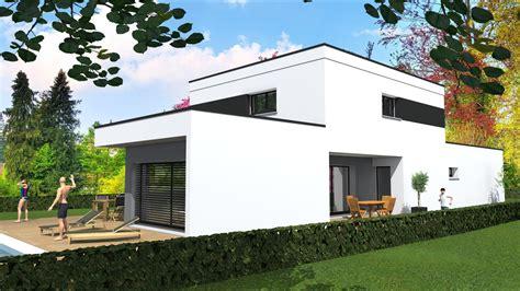cabinet de maitrise d oeuvre c 178 maison contemporaine en toit plat sur soultz haut rhin 68 by