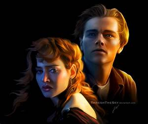 Titanic: Rose and Jack by ThreshTheSky on DeviantArt