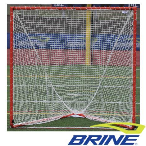 Brine Backyard Lacrosse Goal by Brine High School Lacrosse Goal W 3mm Net