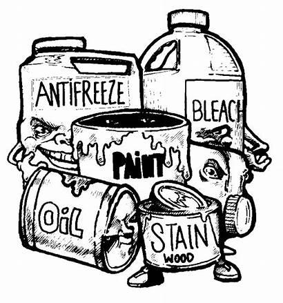 Waste Hazardous Clipart Household Clip Industrial Trash