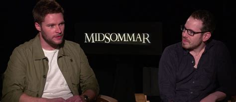 Ari Aster And Jack Reynor Interview Midsommar Sox