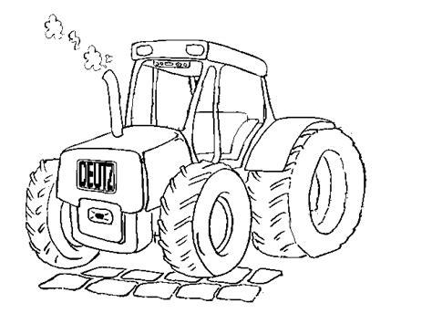 Afbeelding Tractor Kleurplaat by Kleurplaat Tractor Kleurplaten Tractor