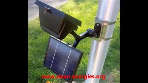 commercial solar flagpole light solar sign light