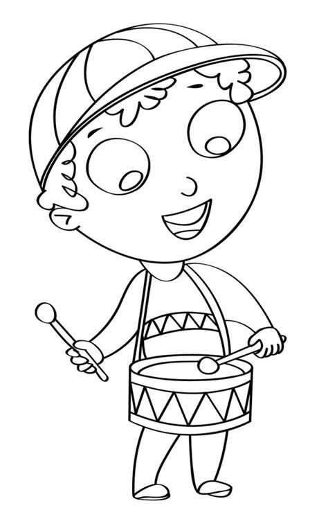 album disegni da colorare per bambini disegno per bambini da colorare gratis bambino tamburo