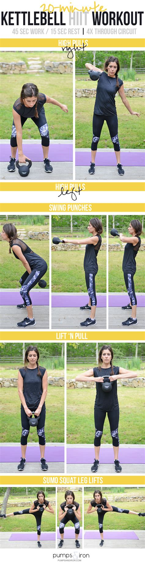 hiit kettlebell workout resistance warm band workouts minute exercises walking body fitness program bands basic iron training trening weight fat