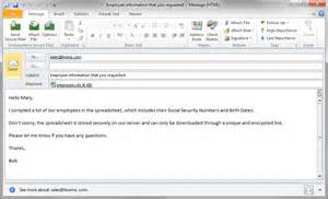 Microsoft Outlook 2010 Email