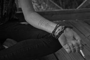Cutting on Pinterest Self Harm Demi Lovato and Depression