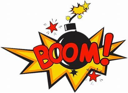 Boom Pow Bang Comic Comics Bomba Pngkey