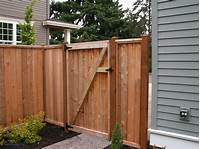 wood fence gates Wood Fence Door Design | Design Ideas