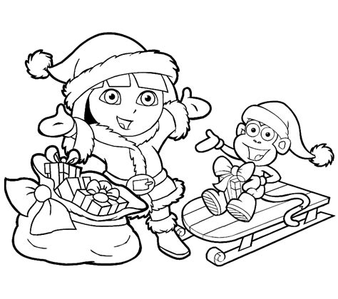 Kinder Kleurplaten by Kinder Kleurplaten Kerst Coloring Pages