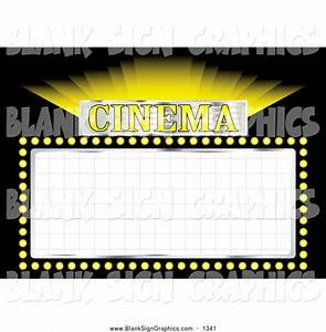 Blank movie theater sign wwwimgkidcom the image kid for Theatre sign clipart