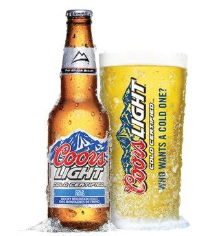 coors light beer alcohol content category