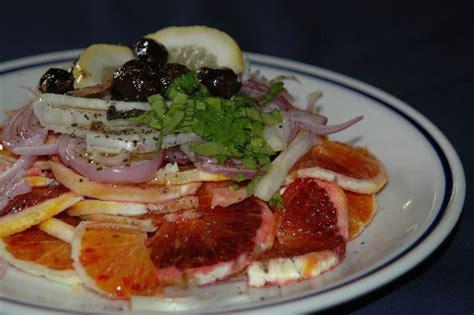 cuisine italienne recette salade d 39 orange recette de la cuisine italienne