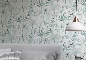 4 Murs Papier Peint Chambre : 25 superbes papiers peints pour la chambre elle d coration ~ Zukunftsfamilie.com Idées de Décoration
