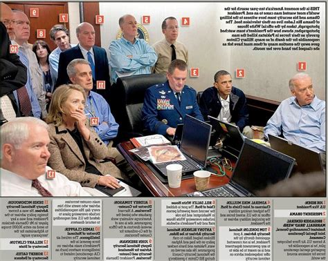 Osama Bin Laden Raid Situation Room