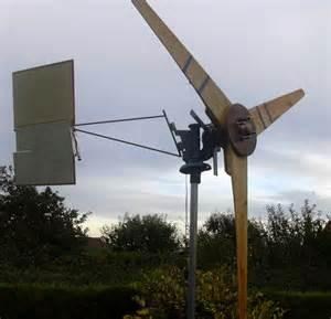 Homemade Wind Turbine Generator