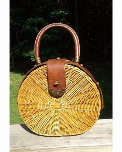 Wicker Bag Aigner Etienne Hinted Bags