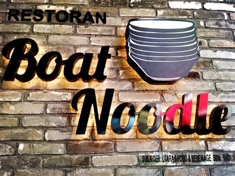 Air Boat Noodle by Eternity Is Forever Boat Noodles At Empire Damansara
