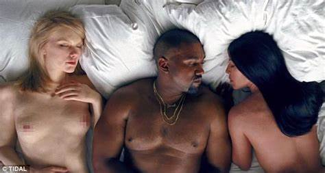 Trying To Lead A Ffm Fake Taylor Swift 'Furious At Kanye West' Over Natural Cleavage In His