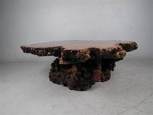 burl wood free edge coffee table for sale at 1stdibs With burl wood coffee table for sale