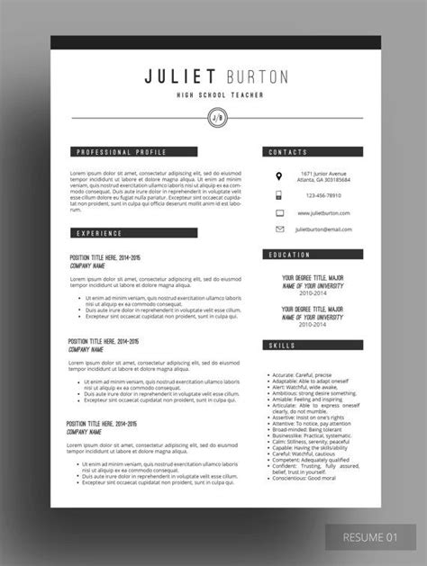 Professional Resume Ideas by 1000 Ideas About Professional Resume Design On