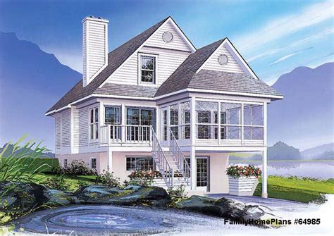 house plans with screened porches home plans coastal houses front porch pictures