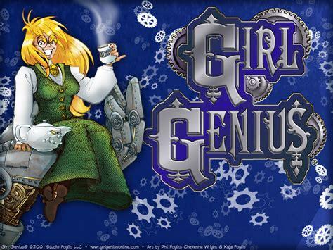 girl genius  comics