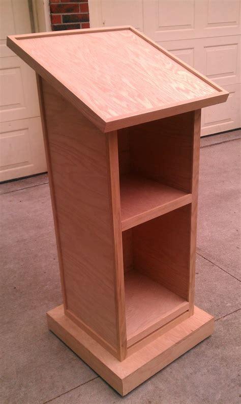 lectern woodworking plans plans diy