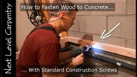 master carpenter hack   fasten wood  concrete