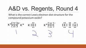Which Lewis Electron Dot Diagram Represents Calcium Oxide