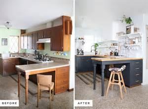 cheap kitchen makeover ideas before and after antes y después de una cocina pintar es la clave