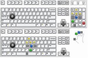 Ergonomic Keyboard Layout For N64 Emulator Controls   Gaming