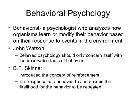 Psychology Chapter 1