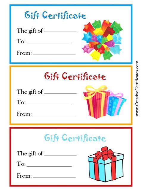 blank birthday gift certificate template  bank statement