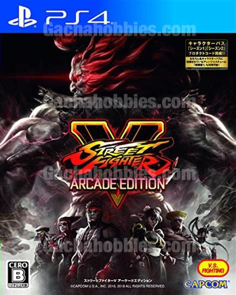 ps street fighter  arcade edition ps  pre