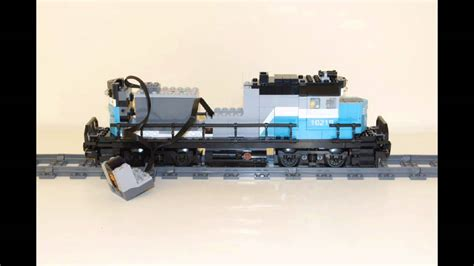 Powering The 10219 Lego Maersk Train Youtube