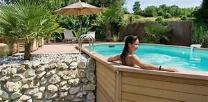 piscine bois bordeaux great piscine bois semi enterre With amazing piscine en bois semi enterree pas cher 8 les differents types de piscine hors sol en bois