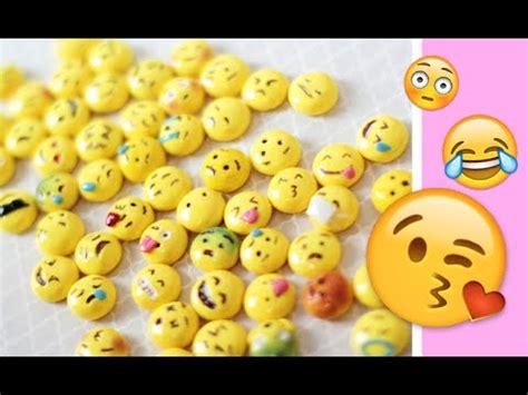 Polymer Clay Tutorial Emojis