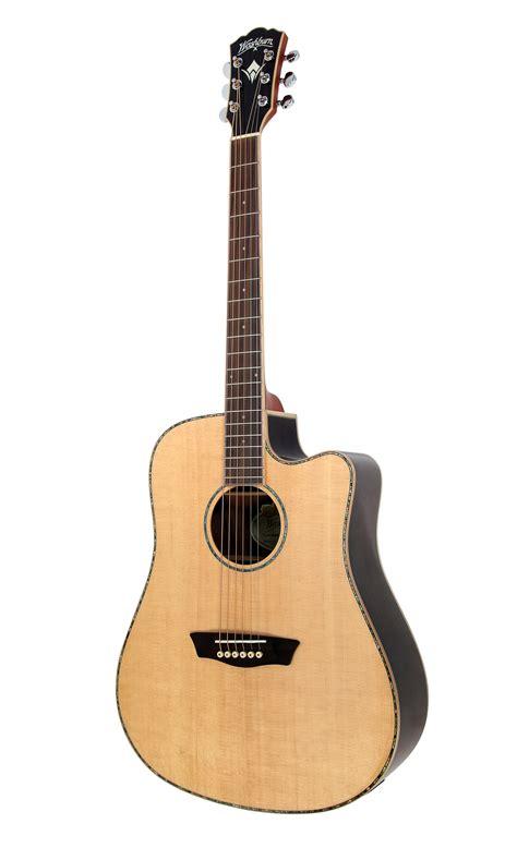washburn wd25sce electric guitar ebay