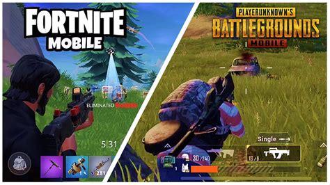 fortnite mobile  pubg mobile ultimate battle royale
