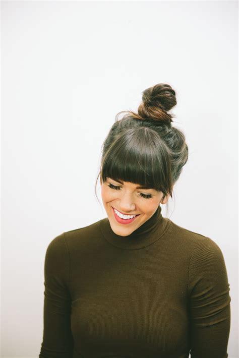 top knot hair tutorial love tazalove taza