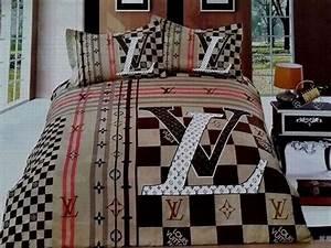 Louis Vuitton Bettwäsche : jetzt kaufen louis vuitton lv bettw sche g nstig billig gut preiswert king size seide baumwolle ~ Watch28wear.com Haus und Dekorationen
