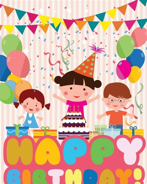 Free Birthday Templates by Birthday Invitation Template Free Vector 15 150