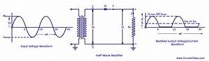 Half Wave Rectifier Circuit With Diagram