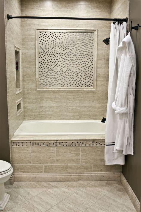 bathroom tub tile designs ceramic wall tile mixed with a stone and glass mixed mosaic bath tub bathroom pinterest