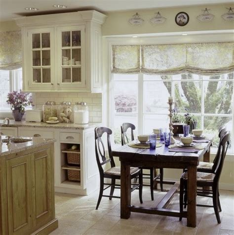 french country kitchen curtains kitchens and dining